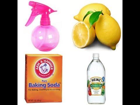 Homemade Lemon & Vinegar Cleaner
