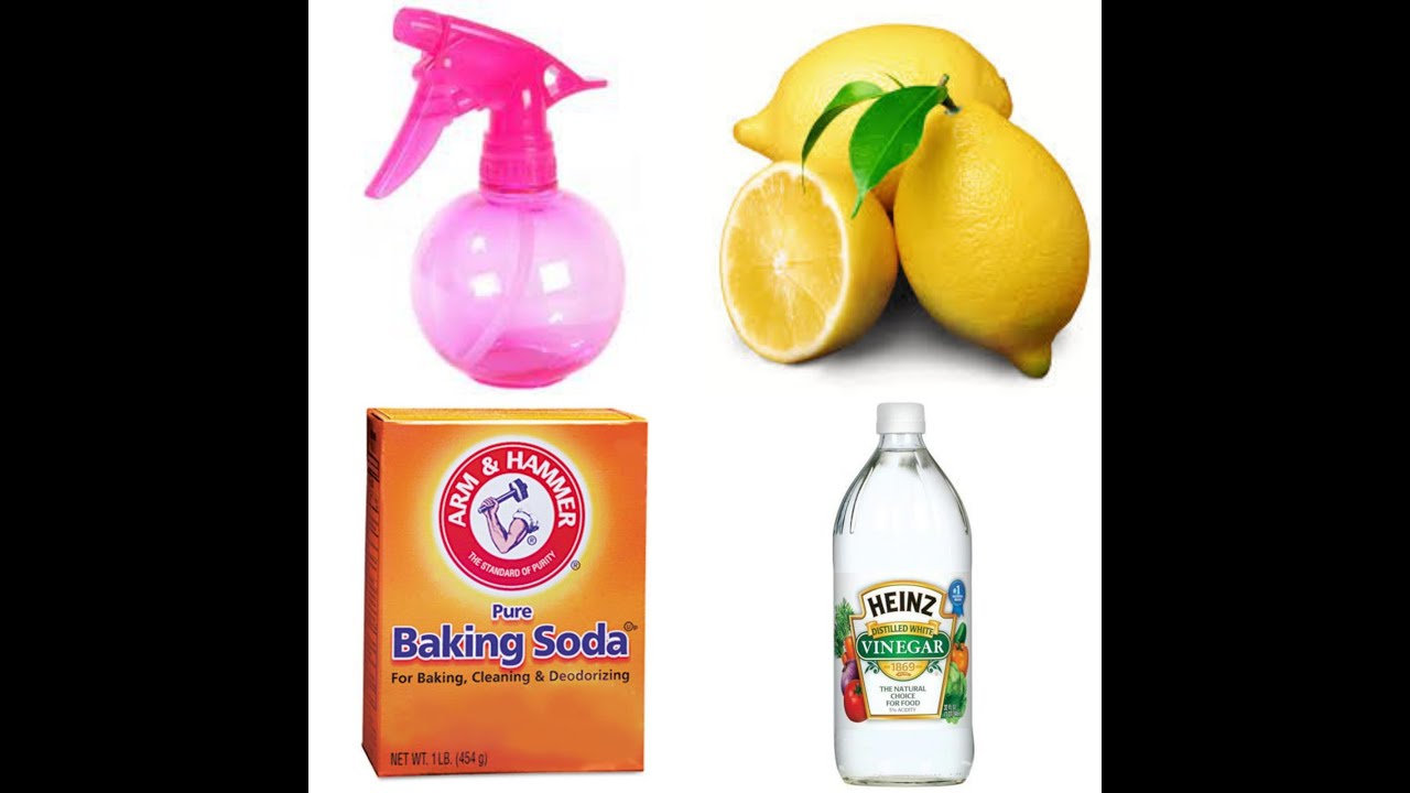 Homemade Lemon & vinegar cleaner - YouTube