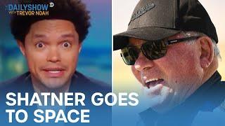 Shatner's Space Trip, North Korea's Martial Arts Parade \u0026 One Elk's Tire Rescue | The Daily Show