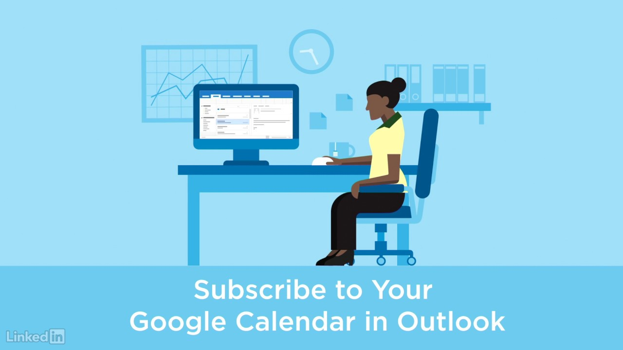 Adding your Google calendar to Outlook