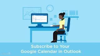 Adding your Google calendar to Outlook