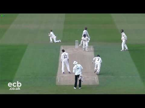 Highlights - Surrey v Lancashire - Day 2