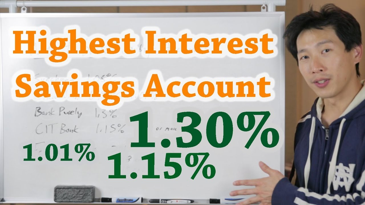 Chasing the Highest Interest Savings Account | BeatTheBush - YouTube