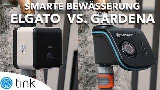 Smarte Gartenbewässerung im Sommer - Eve Aqua vs Gardena Smart Water Control Vergleich