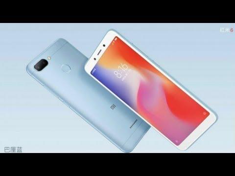 [News] ตั้งตารอ!!! Xiaomi เตรียมเปิดตัว Redmi 6 Pro ตัวคุ้มเพิ่มพร้อมปล่องอีกสองรุ่นรวด - วันที่ 23 Jun 2018