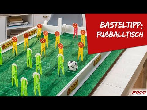 Video: Fußballtisch selbst erstellen – Basteltipp von POCO
