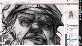 Winds of Fortune Card Creation Grayscale Timelapse