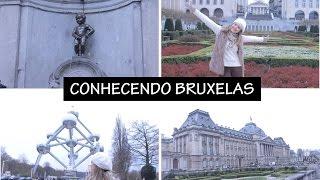 Vlog - Bruxelas: Manneken Pis   Palácio Real   Atomium   Galeries Royale
