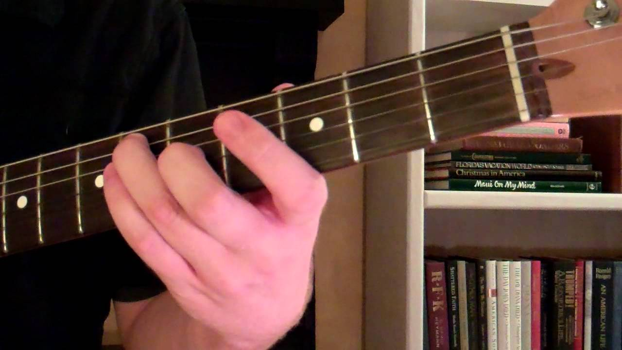 How To Play The G Sharp Major Chord G Or Ab A Flat On Guitar
