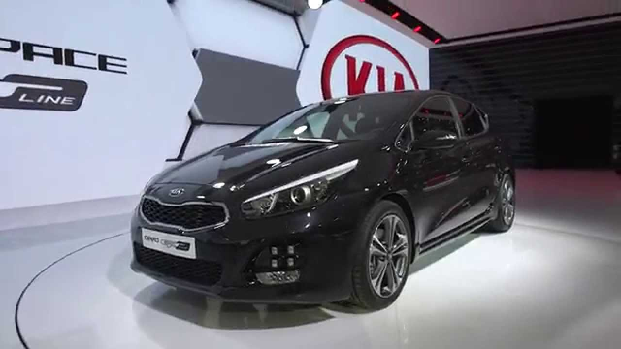 2015 geneva motor show kia cee 39 d gt line youtube. Black Bedroom Furniture Sets. Home Design Ideas