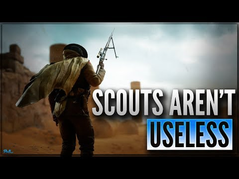 SCOUTS AREN'T USELESS - PTFO SCOUT LEBEL 1886 SNIPER (43-4) GAMEPLAY - Sinai Desert - Battlefield 1