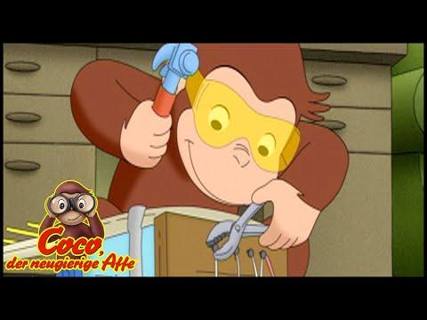 Coco der Neugierige Affe Deutsch🐵Das Affenbadoline-Ding 🐵Ganze Folgen🐵Cartoons für Kinder🐵