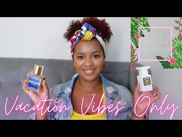 Top 10 Tropical Vacation Fragrances | Perfume Collection 2021
