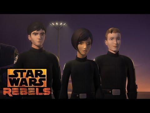 Wedge and Hobbie defect | Star Wars Rebels | Disney XD