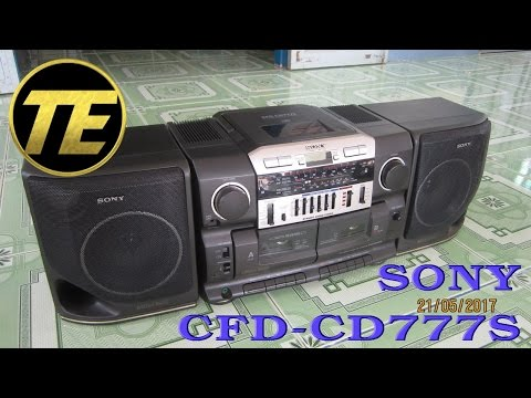 Cassette - How to clean CD Radio cassette - corder Sony CFD-CD777S