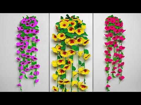 Wall Hanging Toran Making Idea !!! ROOM DECOR 2019 || DIY Project