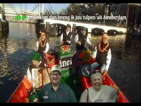 Heineken Experience Amsterdam - Mom & Dad singing on a boat