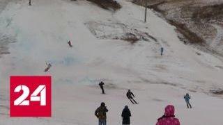 В Оренбургской области власти помогли пенсионеру достроить горнолыжный комплекс - Россия 24