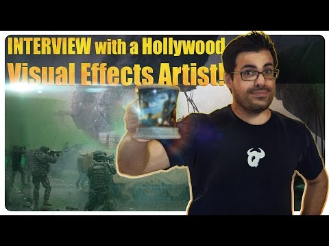 Let's Interview A Hollywood Visual Effects Artist