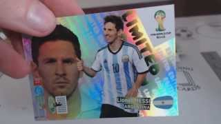 Panini Adrenalyn Fifa World Cup 2014 WM Brazil Tin, Blister, Starter Opening Unboxing