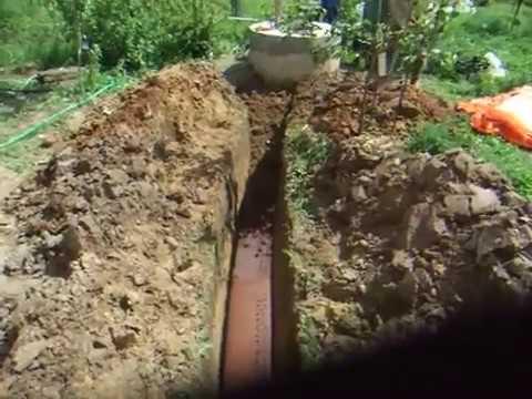 Водопровод из колодца в частном доме, на даче