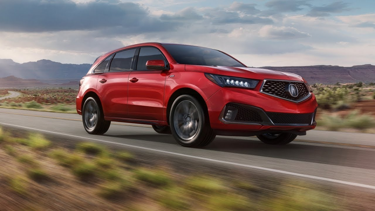 breathtaking 2019 acura mdx a spec debuts  youtube