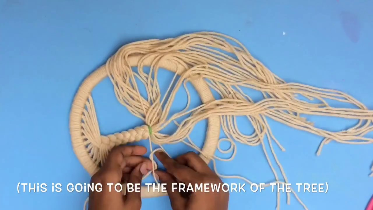 Diy Tree Of Life Dream Catcher Make A Dream Catcher From Scratch