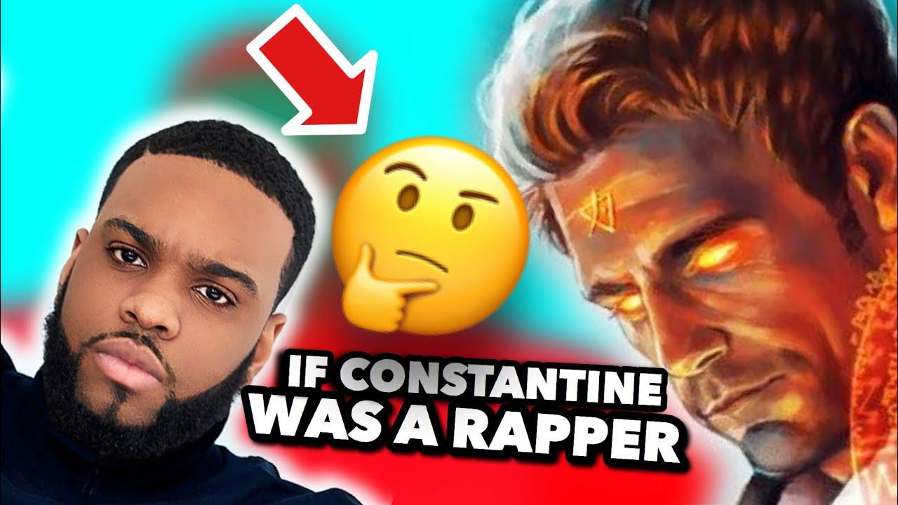 IF CONSTANTINE WAS A RAPPER AKA I'M BURNING [TRAV B RYAN]   YouTube