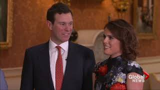 'I was over the moon': Princess Eugenie recounts romantic lake-side proposal