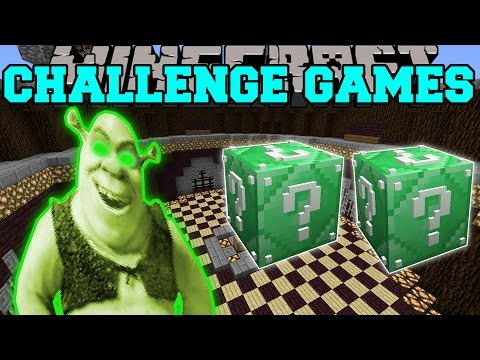 Minecraft: SHREK CHALLENGE GAMES - Lucky Block Mod - Modded Mini-Game