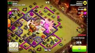 Clash of Clans - Example GoWiWi Clan War Victory Raid