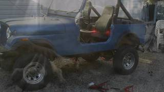 Jeep Cj7 Spring Over Lift Pt 3