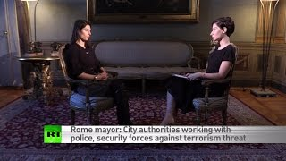 Mafia made money from migrants but we're cleaning up the system - Rome mayor, Virginia Raggi