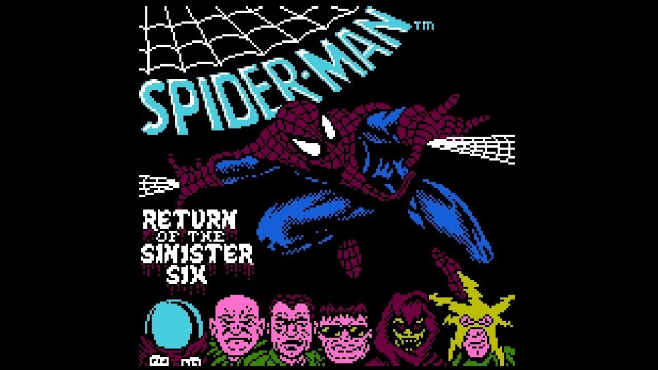 Spider Man Return Of The Sinister Six Nes Gameplay