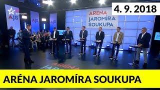 Aréna Jaromíra Soukupa 4.9.2018