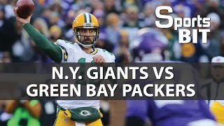 NY Giants vs Green Bay Packers Wild Card Game | Sports BIT | NFL Picks & Preview