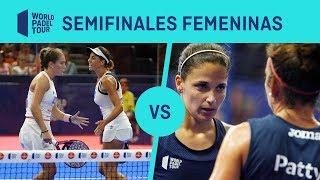 Resumen Semifinal Marrero/Ortega VS Amatriaín/Llaguno Estrella Damm Valencia Open 2019