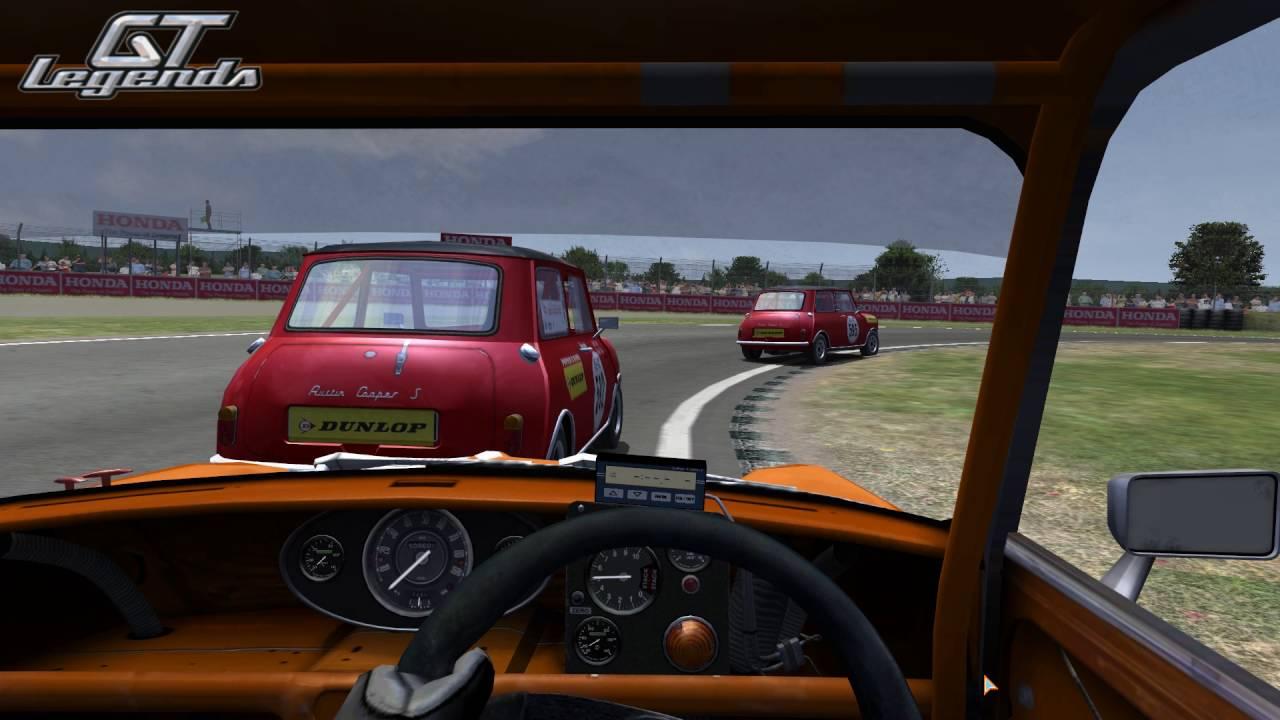 Gt Legends Austin Mini Cooper S At Mondello Park Short 5 Laps
