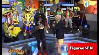 Corta Presentación de Amara La Negra en...