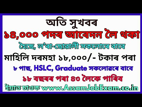 hurry-up-14,000-post-apply-online-is-going-on-||-8th-pass-also-eligible---assam-job-exam