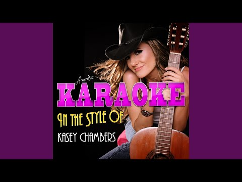 A Little Bit Lonesome (In the Style of Kassey Chambers) (Karaoke Version)