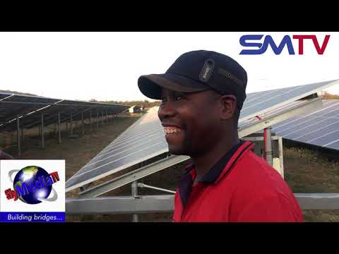A Mtoko Independent Solar Power energy producer pumps power into the national grid