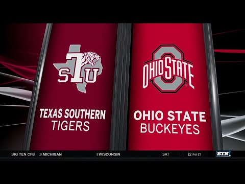 Texas Southern at Ohio State - Men's Basketball Highlights