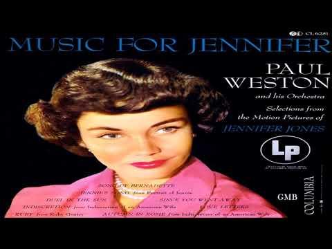 PAUL WESTON  MUSIC FOR JENNIFER 1954  GMB