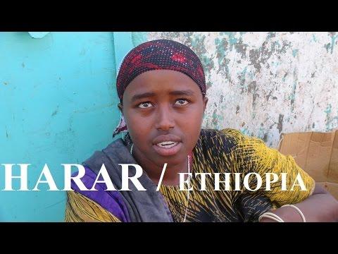 Ethiopia / Harar to Nazret (Women Khat/Qat Market) Part 41