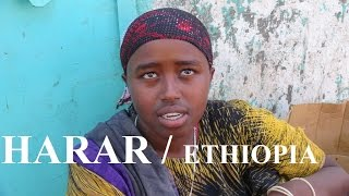 Ethiopia / Harar to Nazret (Women Khat/Qat Market) Part 41