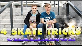 4 ТРЮКА НА СКЕЙТЕ ЧЕЛЛЕНДЖ | 4 SKATE TRICKS CHALLENGE(КАНАЛ ВЛАДЮХИ : https://www.youtube.com/user/FlameAPP 4 ТРЮКА НА СКЕЙТЕ ЧЕЛЛЕНДЖ | 4 SKATE TRICKS CHALLENGE Я В ПЕРИСКОПЕ ..., 2016-04-03T08:57:25.000Z)