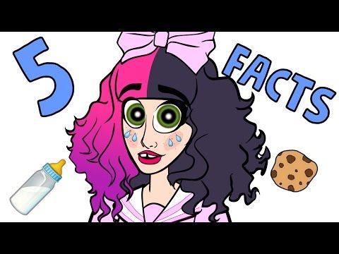 5 Melanie Martinez Facts (CARTOON)