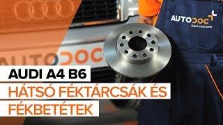 Audi A4 B5- javítási oktatóanyagok rajongóknak
