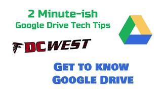 Get to Know your Google Drive